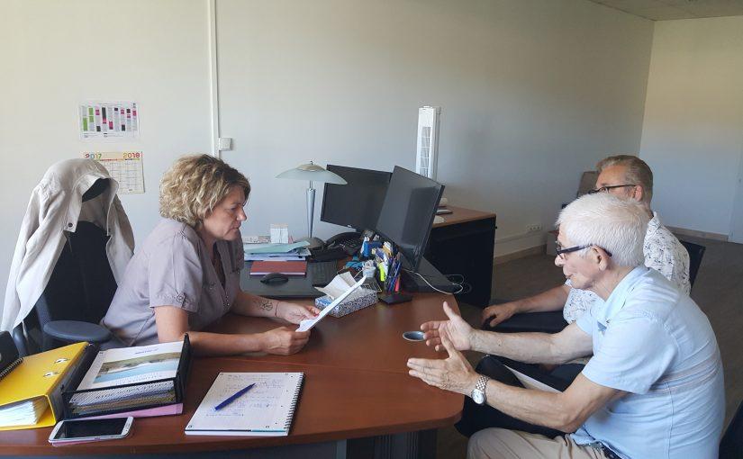 1ère rencontre avec Mme Valérie GOMEZ-BASSAC, députée du Var, 6ème circonscription